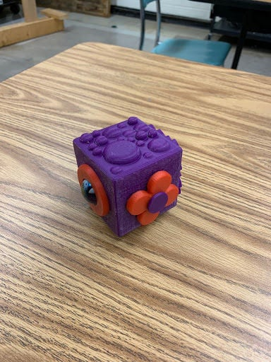Picture of 3D Stress Cube