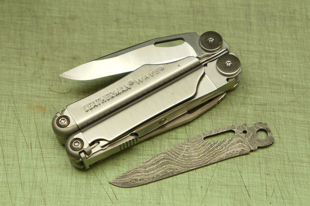 Picture of How to Swap the Blade on Your Leatherman Wave, Charge, or Surge Tool