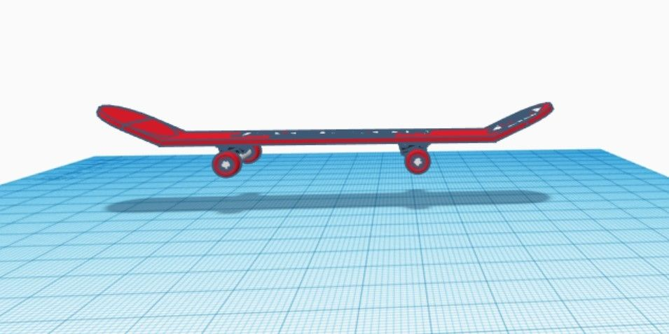 Picture of Combine the Upper and Lower Parts of the Skateboard