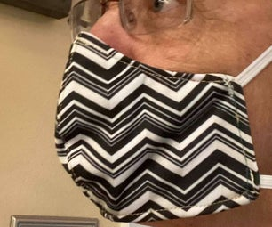 CDC Approved Cloth Face Mask With N95 Filter