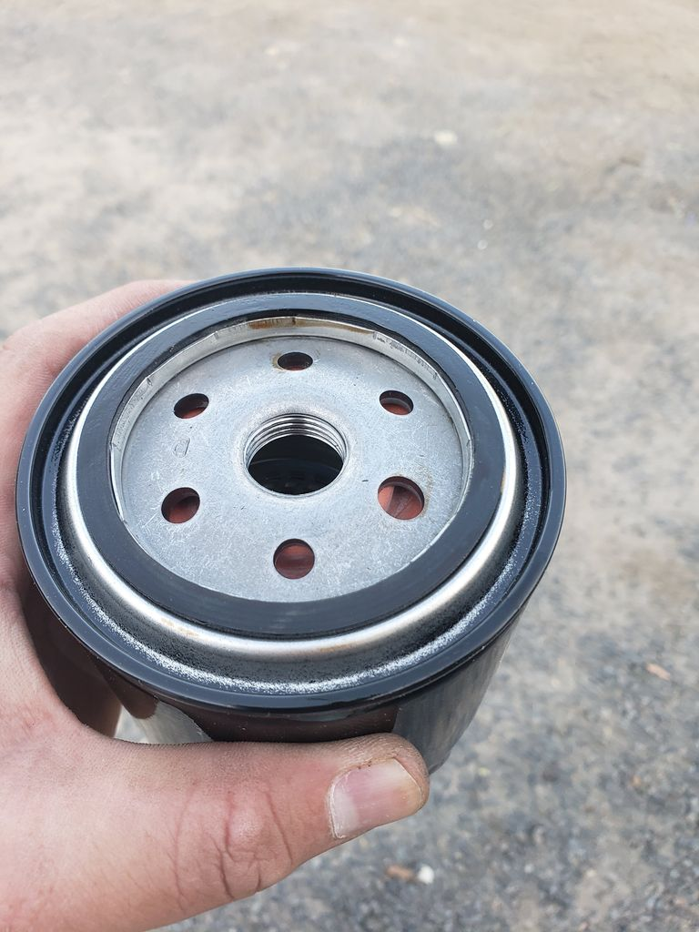 Picture of Put the New Oil Filter