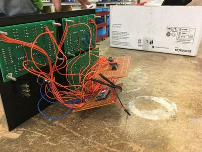 Secure Electronics to the Housing