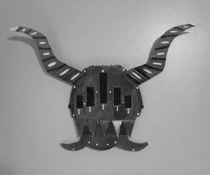 Method for Creating a Cardboard Mask