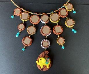 大象Terracotta项链
