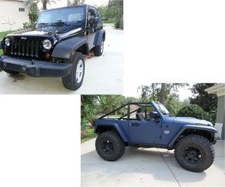 Unique Custom Jeep Build