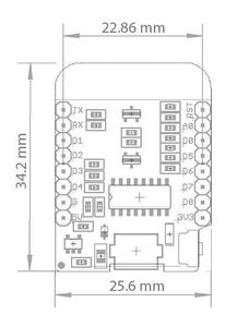 The Wemos D1 Mini ESP8266 Board