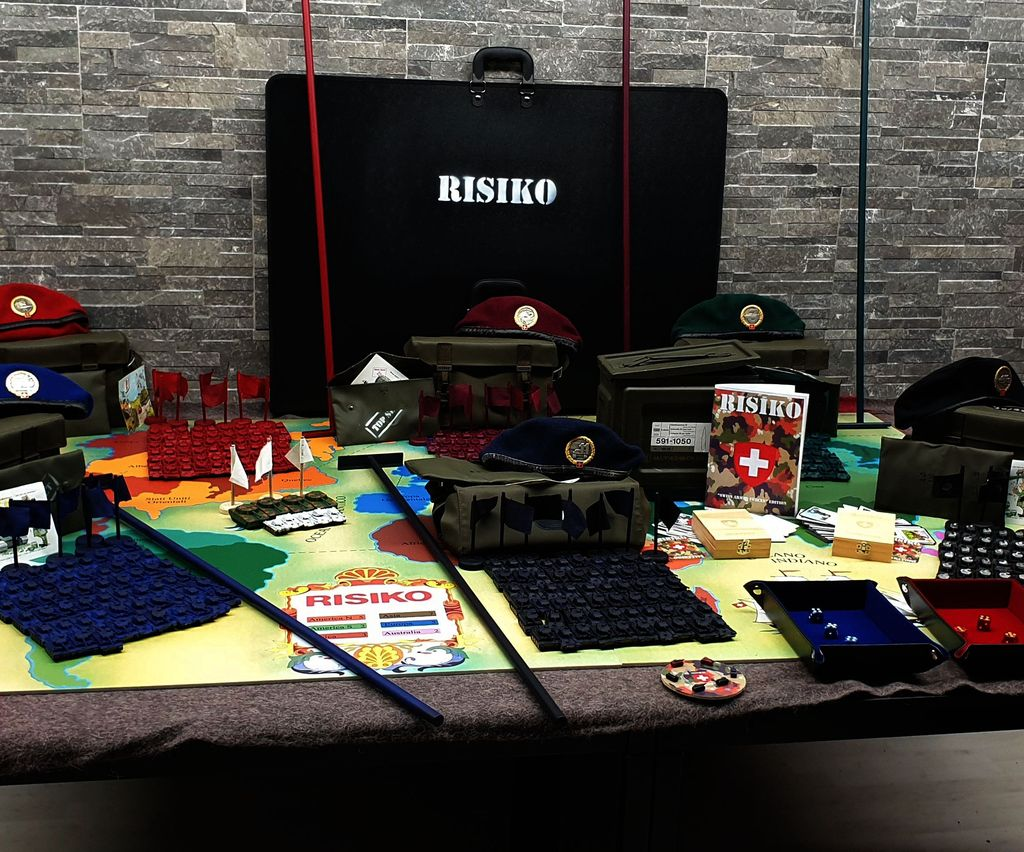 Giant RISK Board Game - Swiss Armed Forces Edition