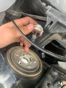 Remove Bulb From Headlight Housing