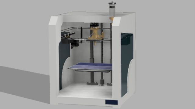 Picture of The Overall Model of the Printer: