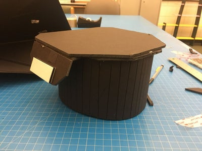 Building the Head Attachment and Arduino Base