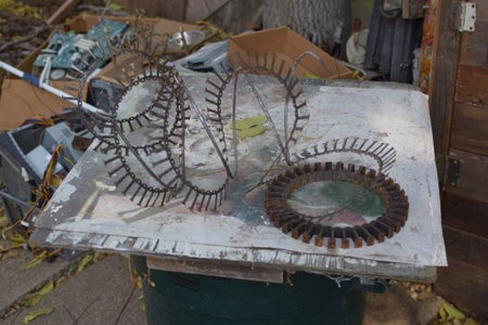 Weld Laminate Onto Spiral Rods