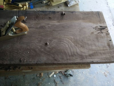 Twin Bass and Guitar From a Slab of Walnut