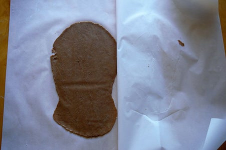 Roll the Chocolate Dough Strip
