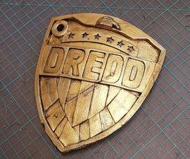 法官Dredd徽章