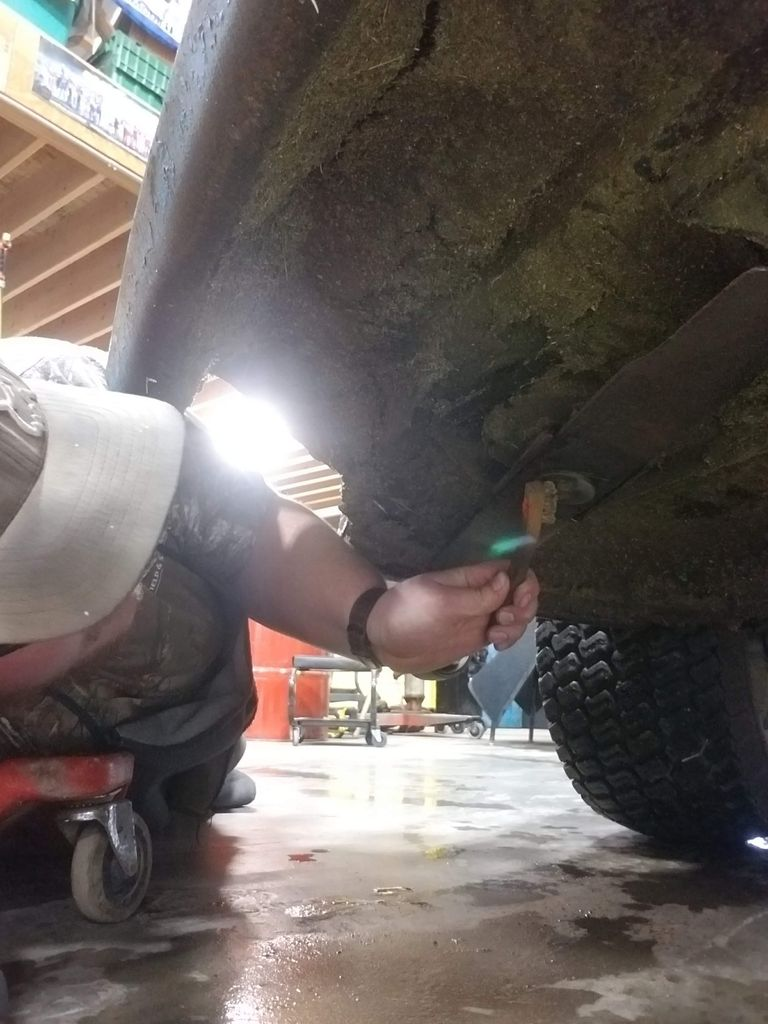 Picture of Mower Blade Removal