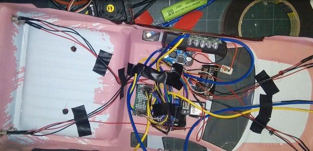 Arrange the Lights on the Car Body