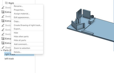 Export File and Download It to Upload to 3D Printing Program