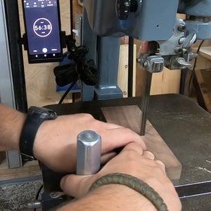 Cutting the Walnut Inside Pieces