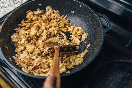 Rotisserie Chicken Fried Rice