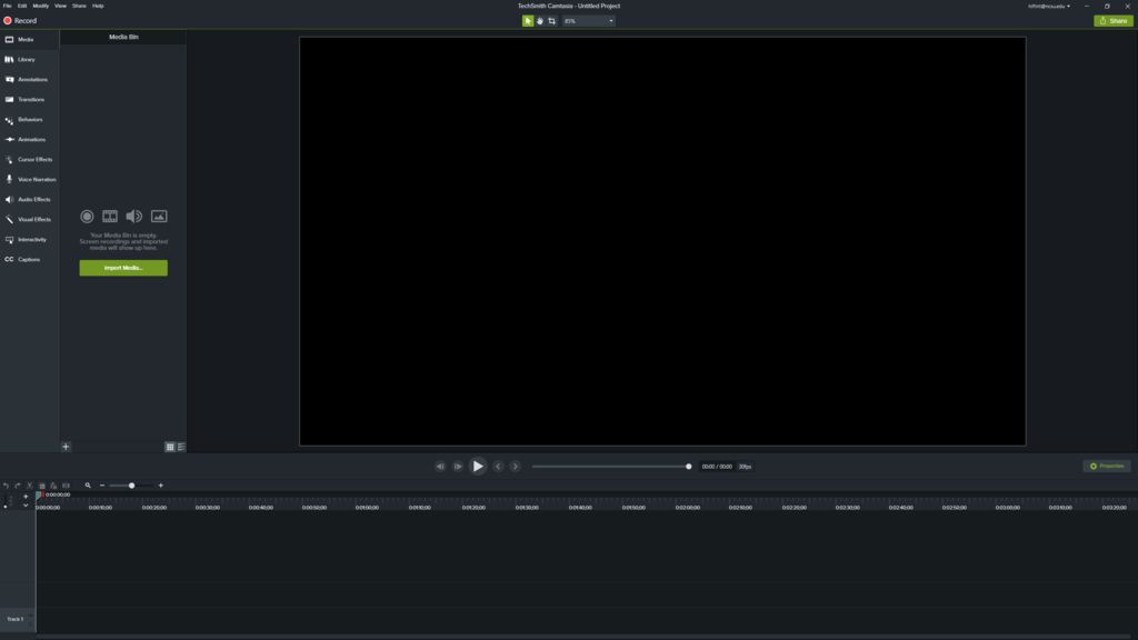Picture of Open Recording Software