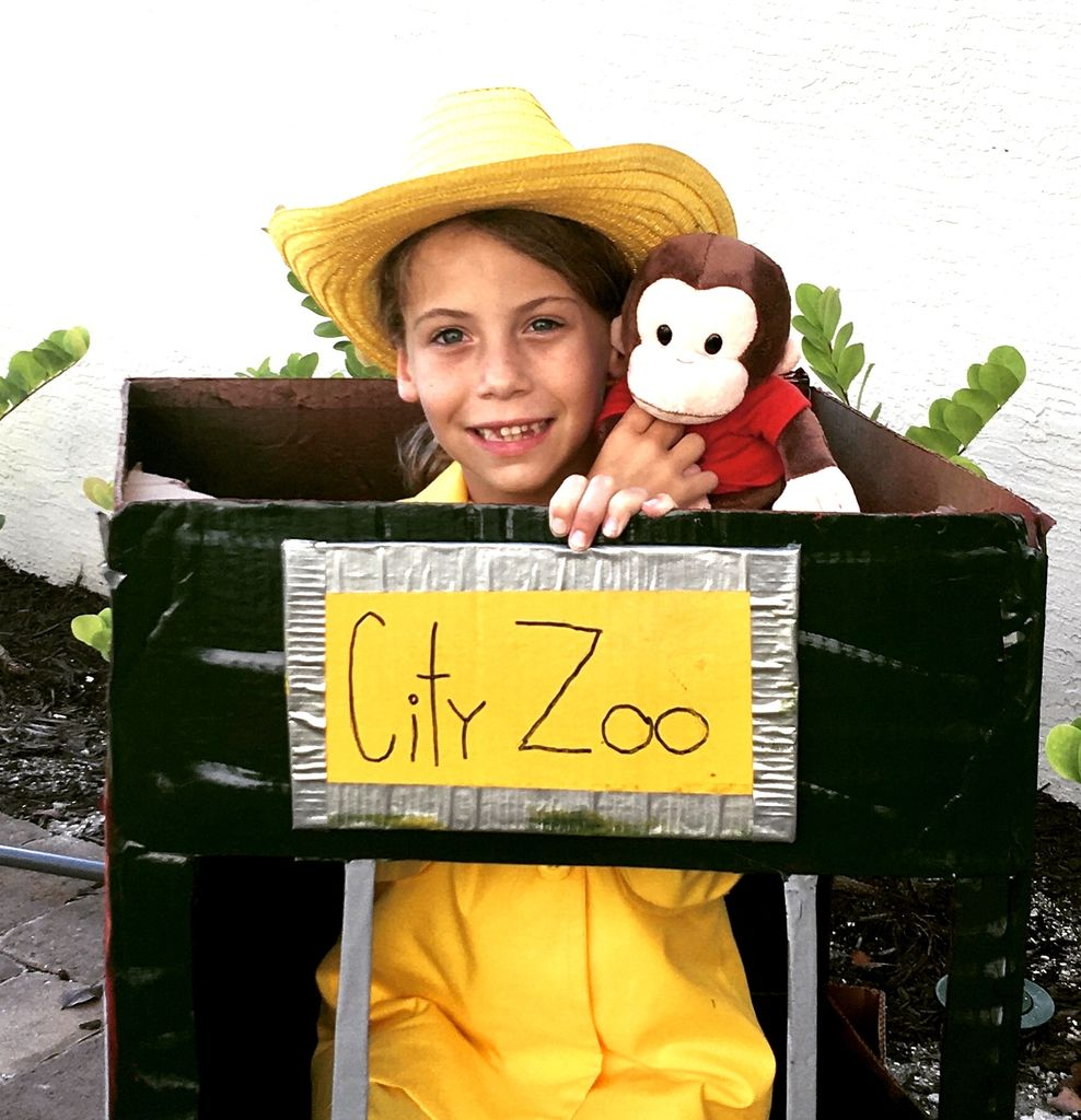 Picture of Curious George and the Man in the Yellow Hat