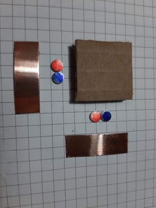 Attach the Magnets With Copper Tape