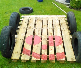 pallet go cart for kids(super easy)