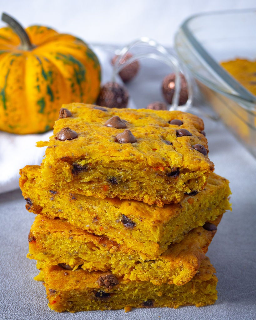 Picture of Pumpkin Bars With Chocolate Chips