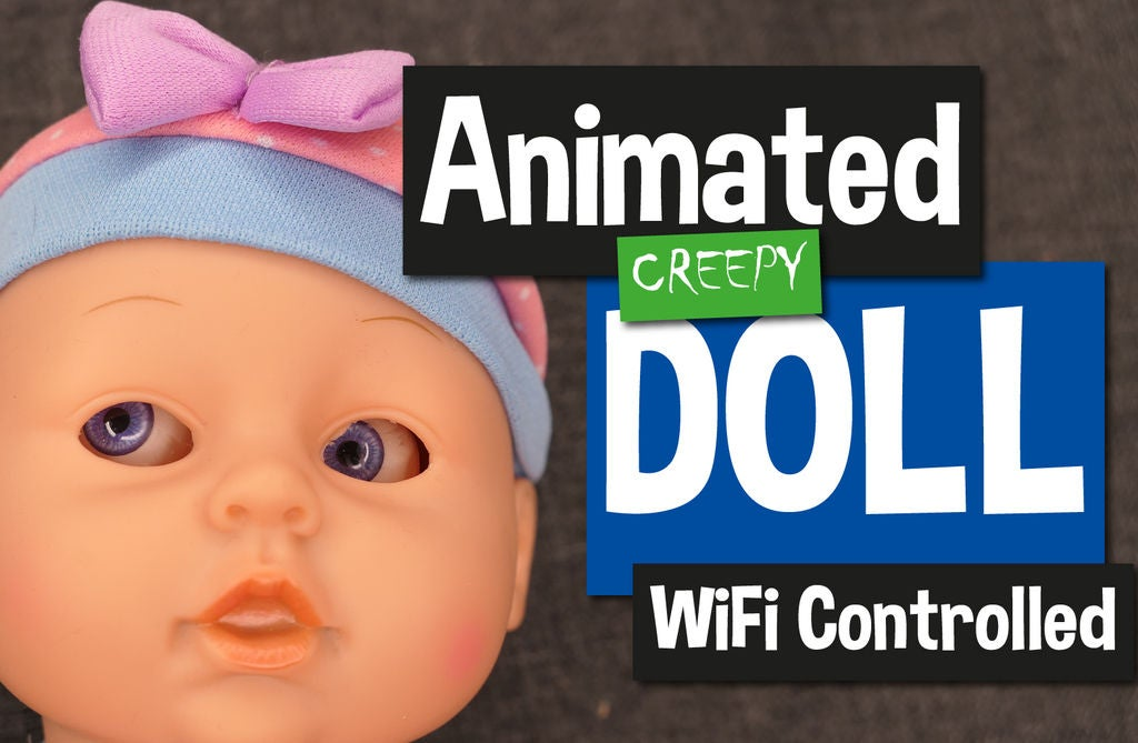 Picture of Animated WiFi Doll