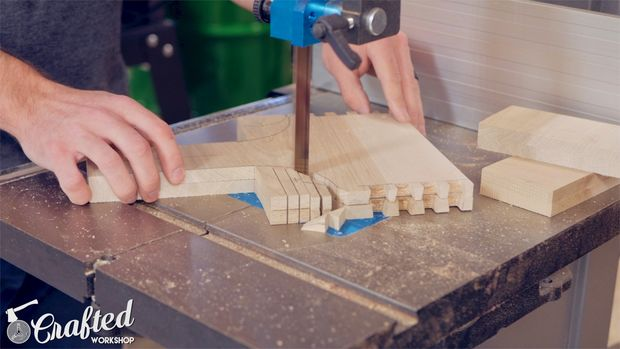 Shape Long Sides & Drill Hole for Handle
