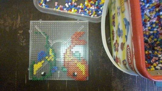 Fish in Beads