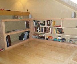 DJ Booth / Bookshelf