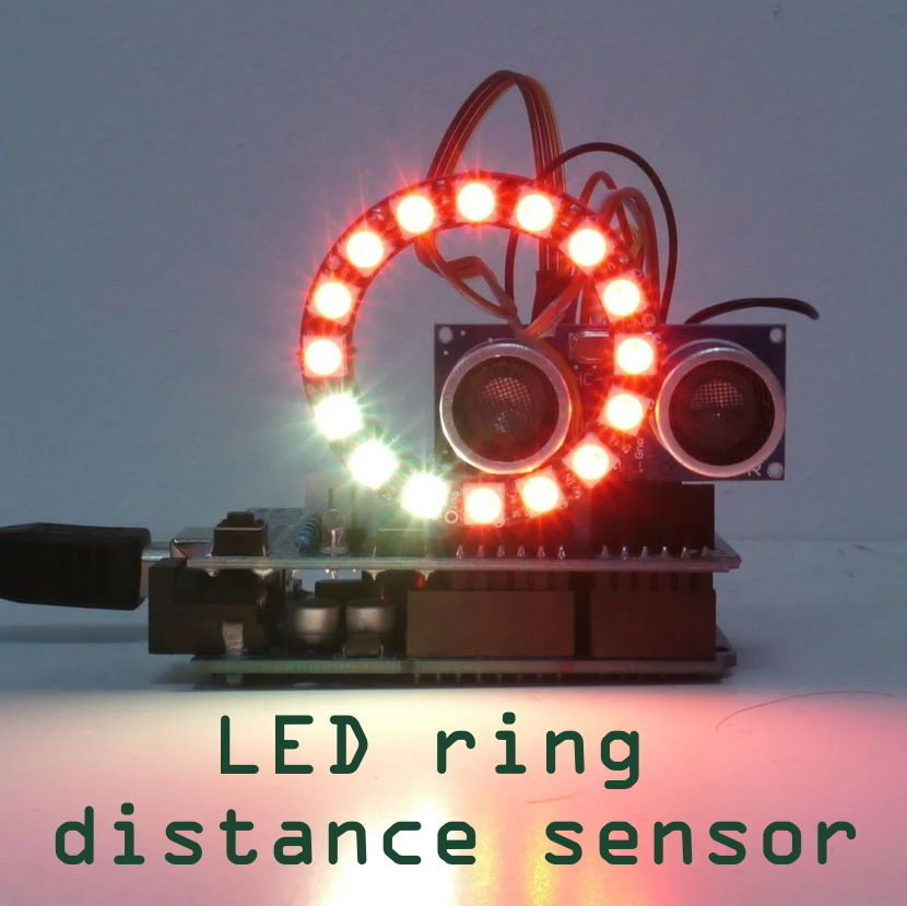 Picture of LED Ring Distance Sensor