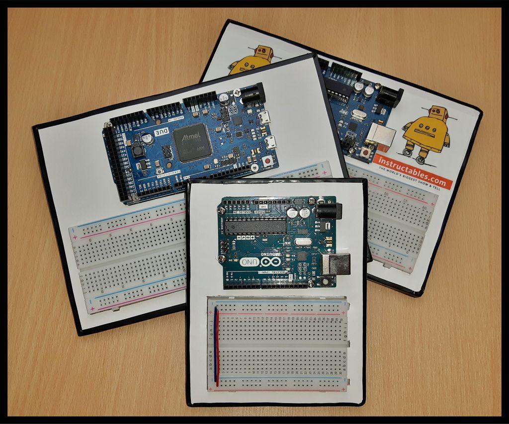 Picture of Arduino & Breadboard Holder
