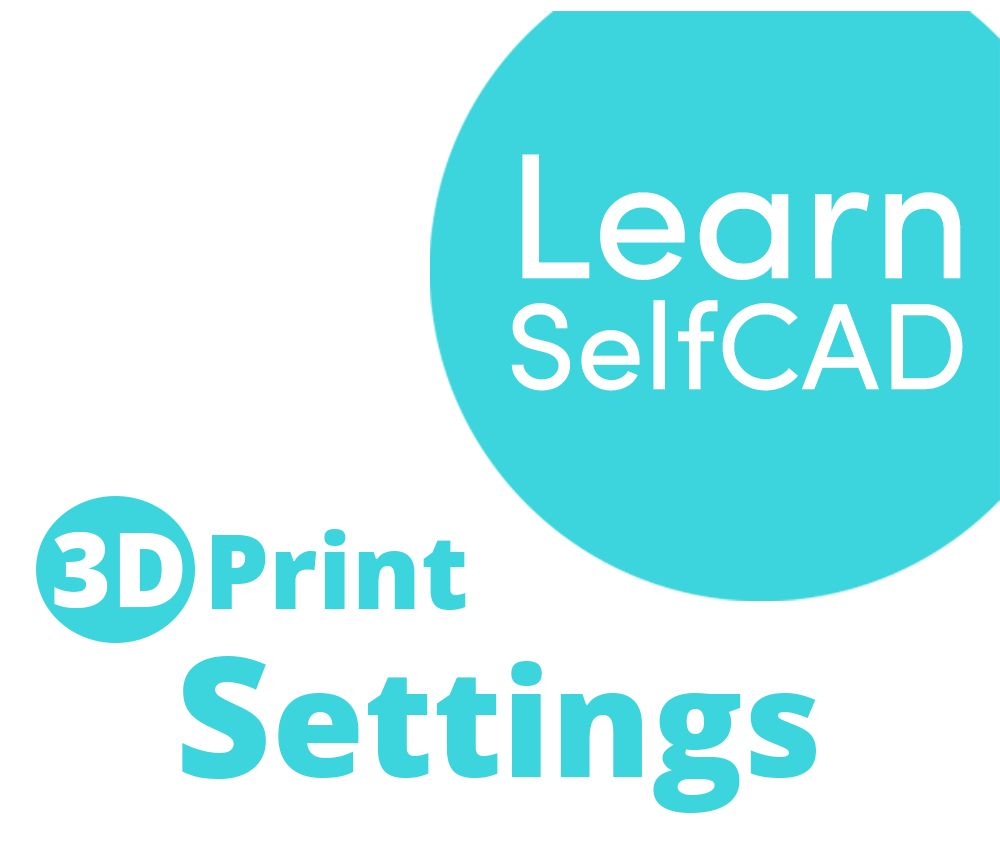 Picture of 3.2. 3D Printing - Settings | Learn SelfCAD
