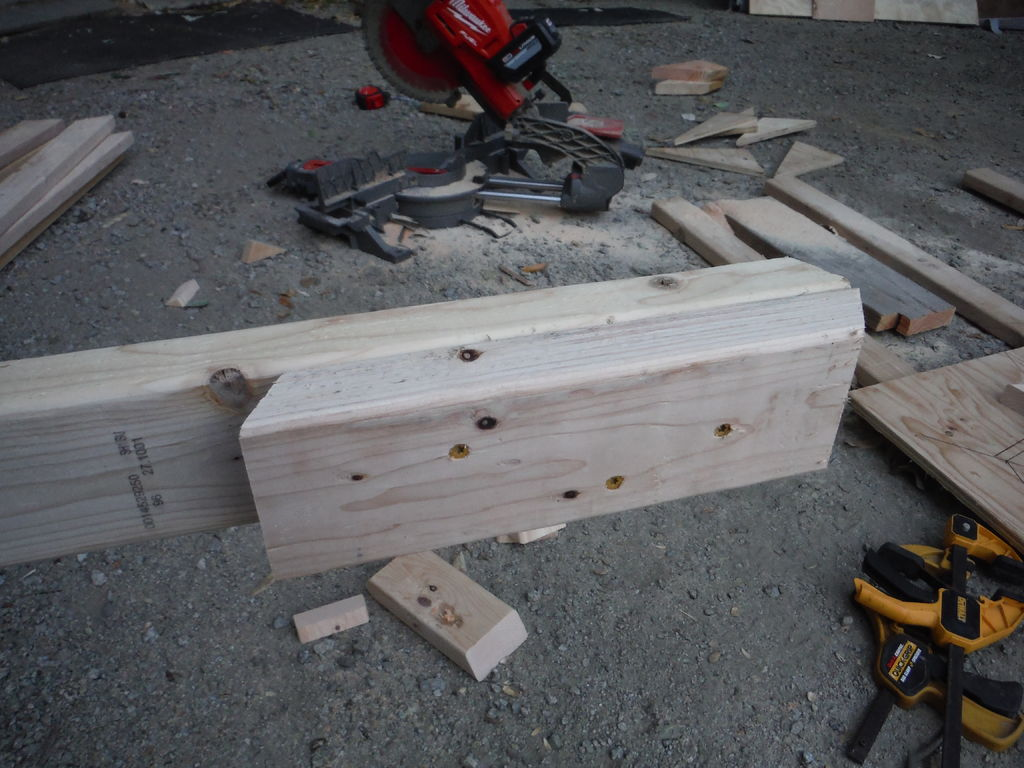 Picture of Cut and Assemble Seat Blocking