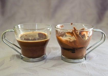 Add the Espresso Coffee