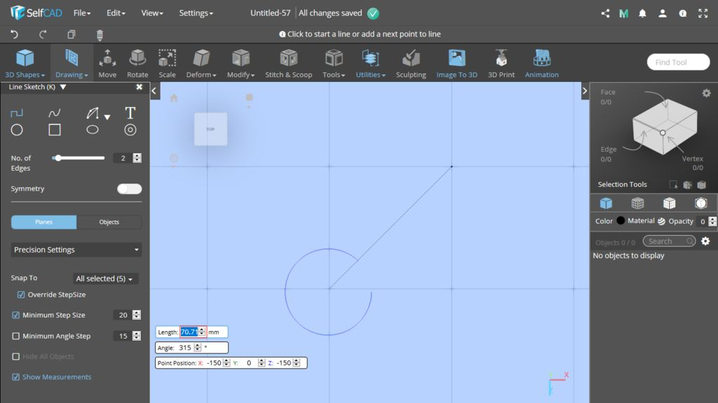 Picture of 3D Sketch: Precision Settings