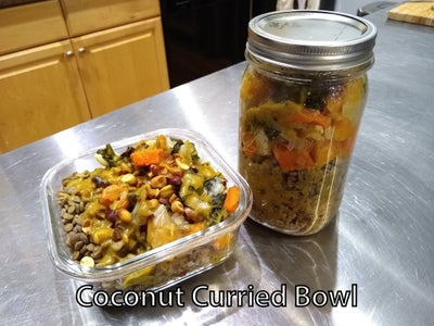 Example 3: Coconut Curried Bowl
