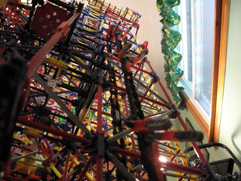 Picture of Rock of Prometheus Knex Ball Machine