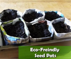 如何在没有塑料盆的情况下开始播种——DIY环保种子盆