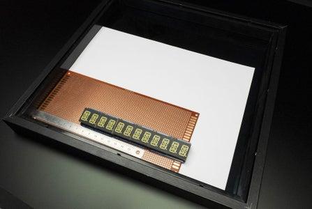 确定框架内的显示布局和焊接显示