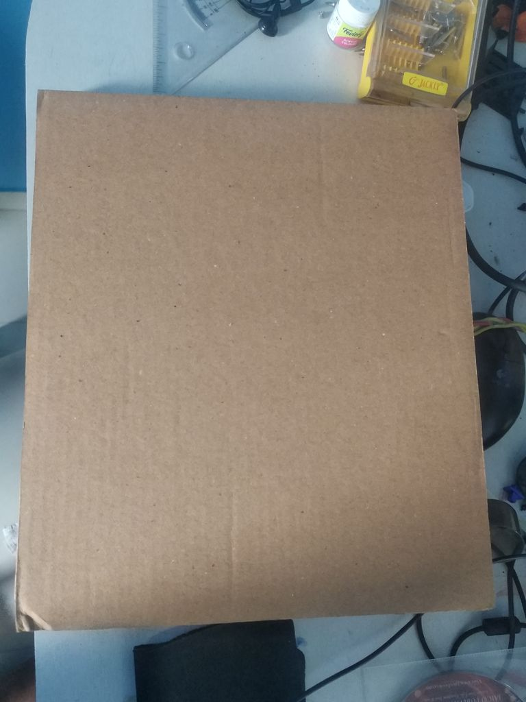 Picture of Laptop Cooling Stand From Cardboard