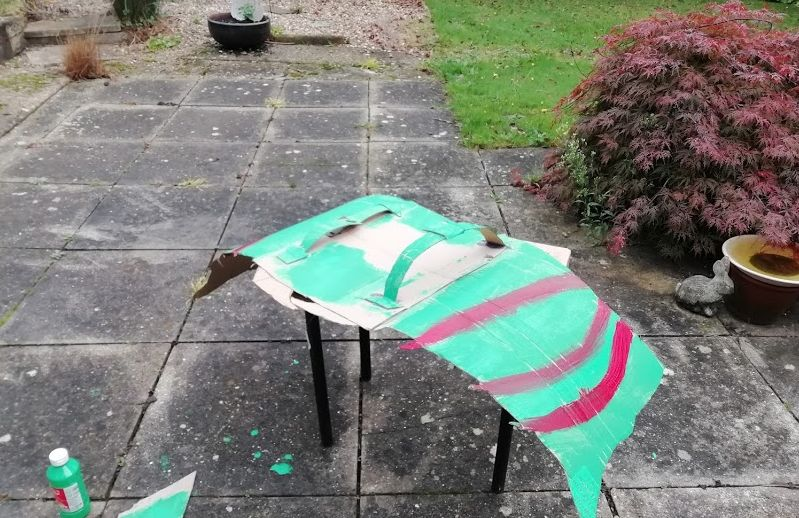 Picture of Making the Wings- Part 4- PAINT IT!