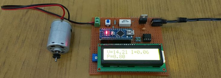 Picture of Arduino Wattmeter - Voltage, Current and Power Consumption