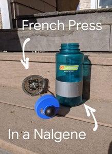 French Press in a Nalgene