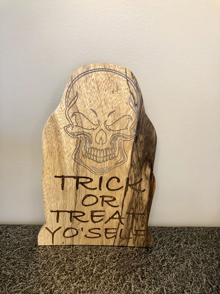 Picture of Trick or Treat Yo Self Tomb Stone