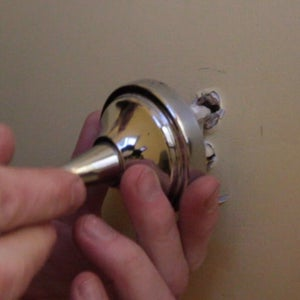 Using Toggle Bolts to Fix Something Falling Out of a Wall