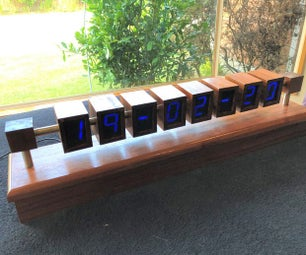 WiFi 7 Segment LED Clock