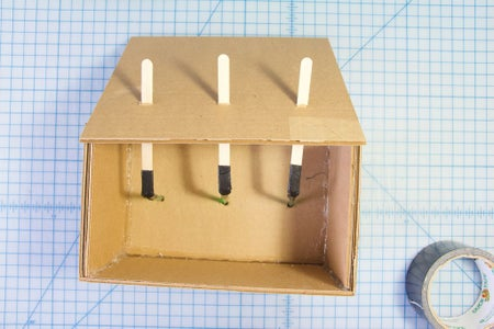 Build the Box: Insert the Dowels & Glue the Back